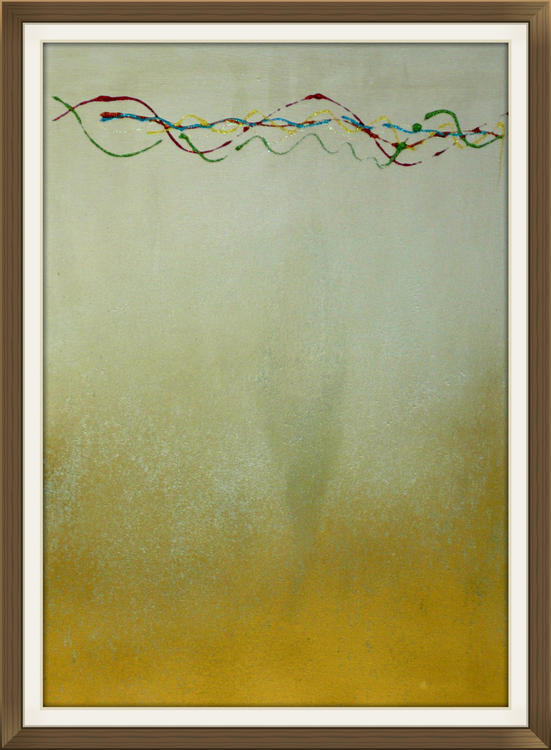 Harmony abstract painting by Ron Labryzz