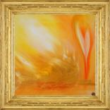 Lumen abstract painting by Ron Labryzz
