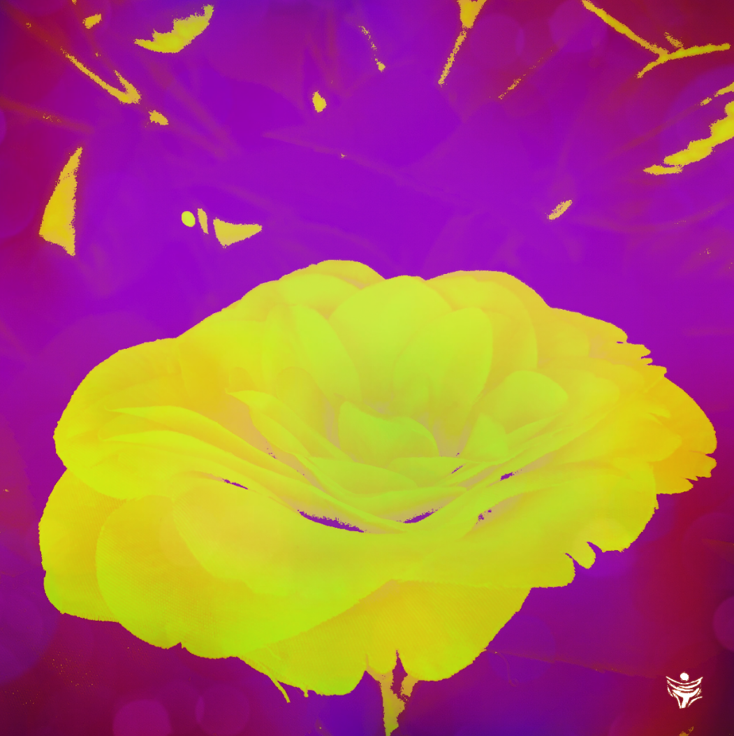 FLOWER219 digital abstract art by Ron Labryzz, #rlart